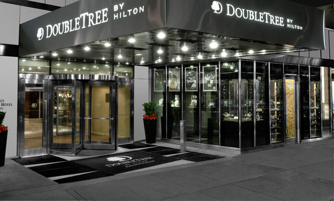 Hotel DoubleTree by Hilton Metropolitan - New York City, NY - Entrance