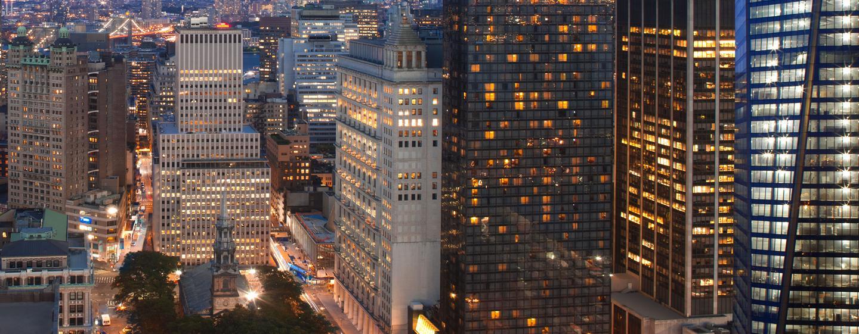 Hotel Millennium Hilton New York Downtown, Nueva York, Nueva York - Vista panorámica de la fachada del hotel