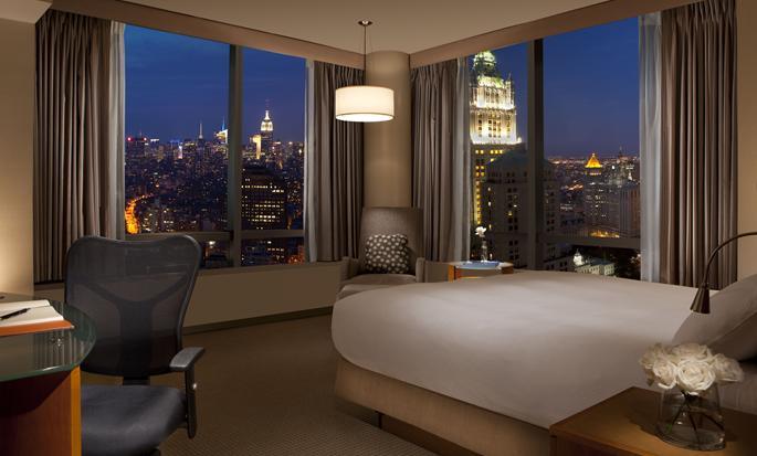 Hotel Millennium Hilton New York Downtown, Nueva York, Nueva York - Habitación Deluxe con cama King
