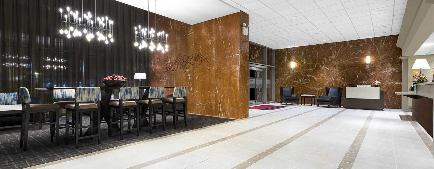 Hampton Inn Manhattan-Times Square North hotel, USA - Lobby