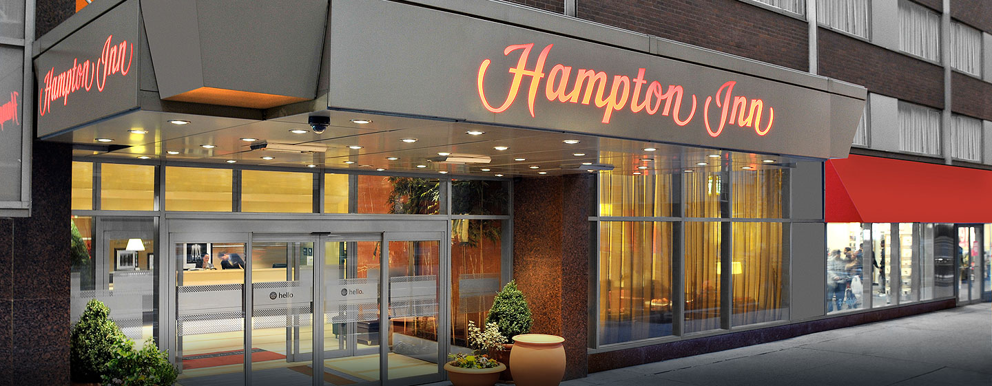 Hotel Hampton Inn Manhattan-Times Square North, Nueva York - Entrada del hotel