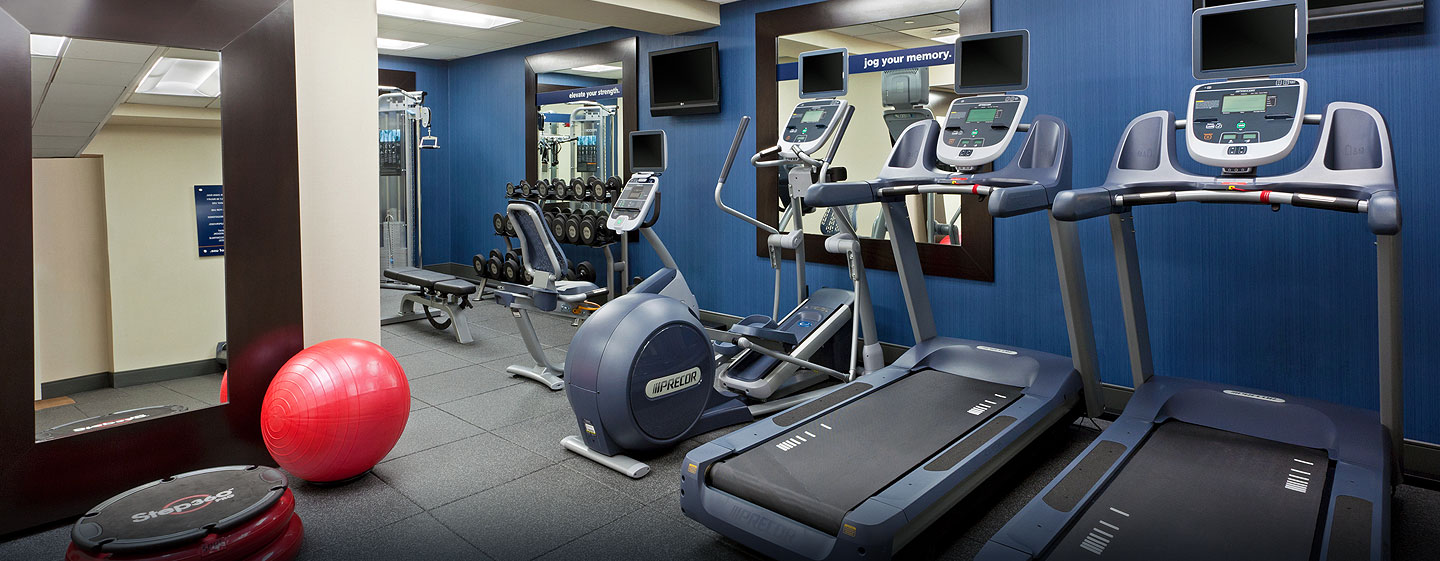Hotel Hampton Inn Manhattan-Times Square North, Nueva York - Gimnasio