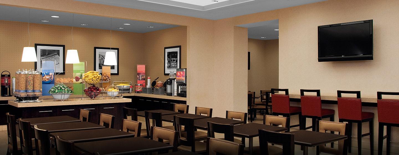 Hampton Inn Manhattan-Times Square North hotel, USA - Área para refeições - café da manhã