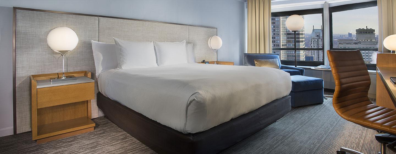 Hotel New York Hilton Midtown, Stati Uniti - Camera Executive piano con un letto