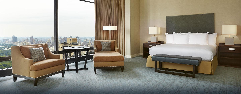 Hotel New York Hilton Midtown, Stati Uniti - Camera da letto della Suite Penthouse