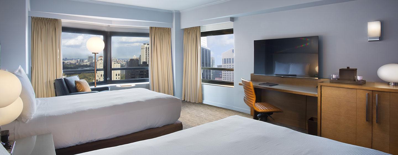 Hotel New York Hilton Midtown, Stati Uniti - Camera Executive piano con due letti