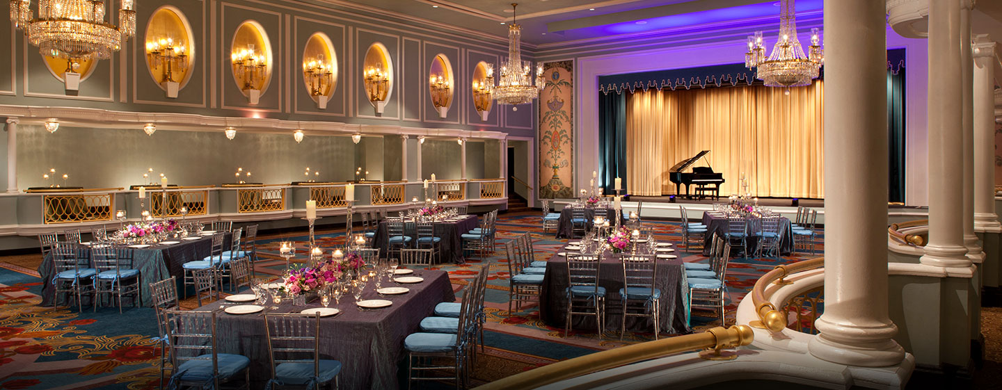 Hotel New York Hilton Midtown, Stati Uniti - Salone Trianon