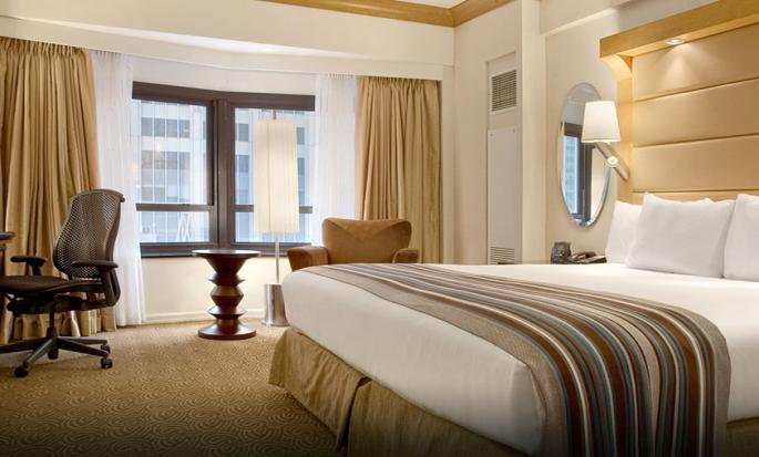 Hotel New York Hilton Midtown, Stati Uniti - Camera standard