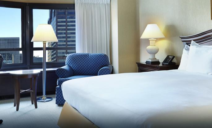 Hotel New York Hilton Midtown, Stati Uniti - Camera Executive con letto king size
