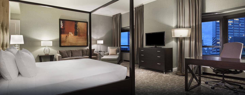 New York Hilton Midtown, NY - Dormitorio de la suite Presidential