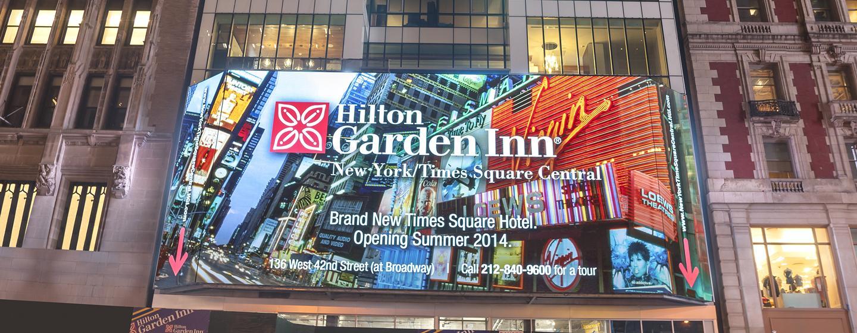 Hilton Garden Inn New York Times Square, NY - Fachada del hotel