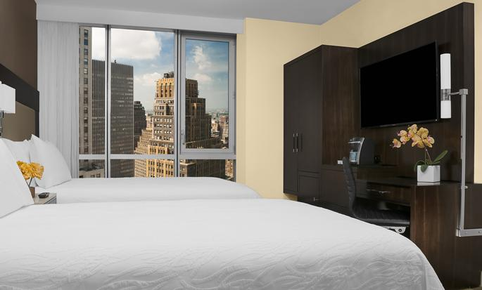 Hilton Garden Inn New York Times Square, New York – Standard Zimmer