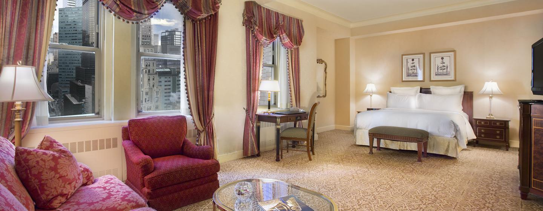Mobilier Chambre Bebe Originale : Hôtel Waldorf Astoria New York, ÉtatsUnis  Chambre Grand Luxe