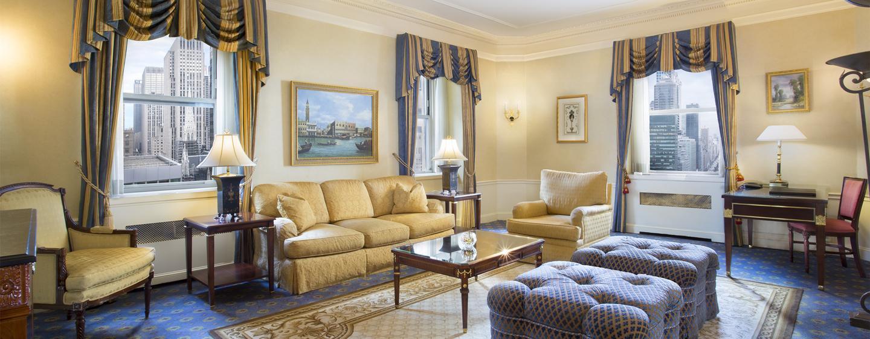 Waldorf Astoria New York - Signatur-suite