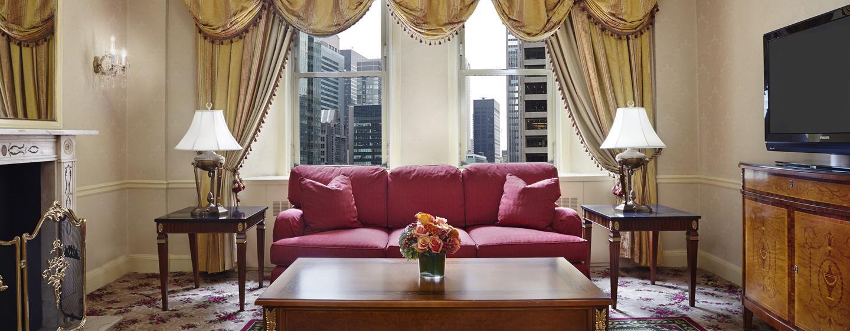 Waldorf Astoria New York – Suite med ett soverom