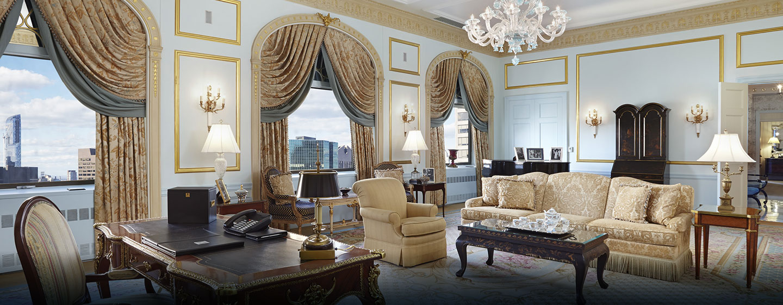 Waldorf Astoria New York - Grand Suite-oppholdsrom