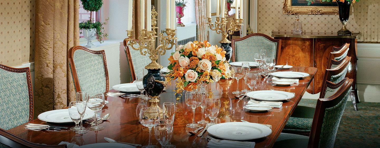 Hotel Waldorf Astoria New York, Stati Uniti - Sala da pranzo della Suite
