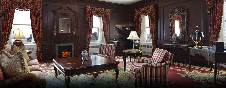 Waldorf Astoria New York – Presidentsuite spisestue