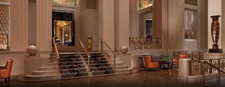 Waldorf Astoria New York – Fra Park Avenue-lobbyen