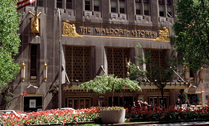 Hotel Waldorf Astoria New York, NY - Fachada