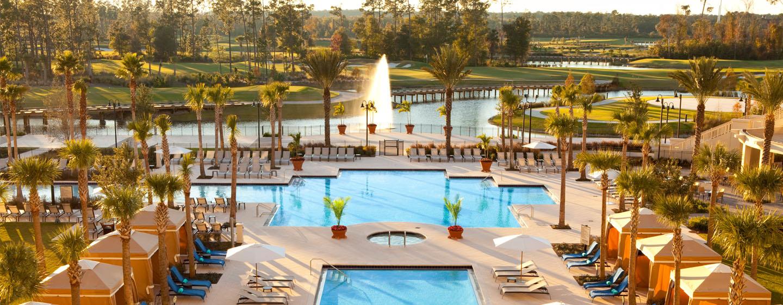 Waldorf Astoria Orlando Hotel FL, USA – Poolbereich des Resorts