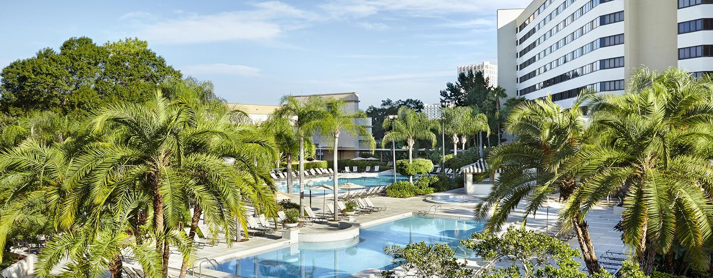 Hilton Orlando Lake Buena Vista Walt Disney World Hotel
