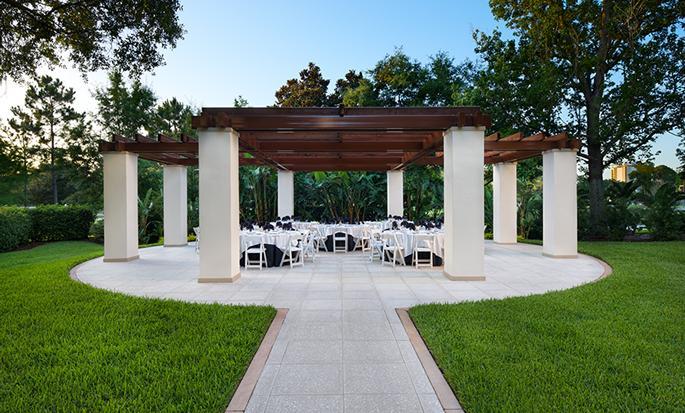 Hôtel Hilton Orlando Lake Buena Vista - Réceptions en extérieur