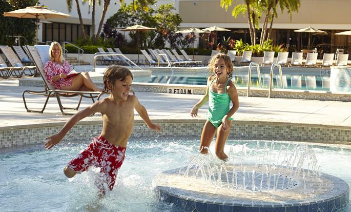 Hôtel Hilton Orlando Lake Buena Vista - Aire de baignade