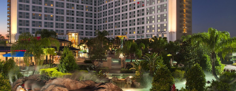 Herzlich willkommen im schönen Hilton Orlando