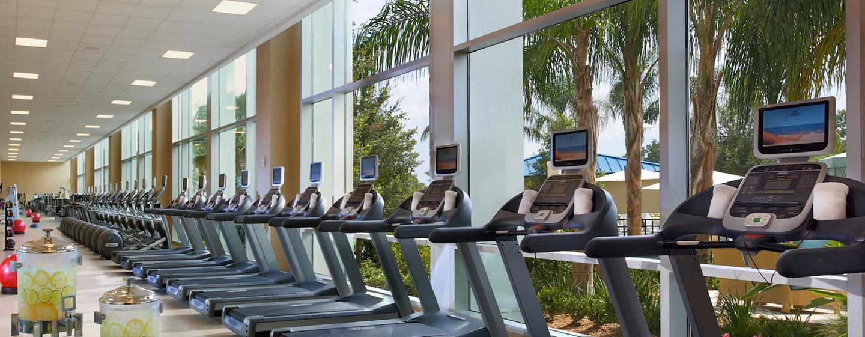 Im großen Fitness Center des Hotels, können Sie ungestört Ihrem Training nachgehen