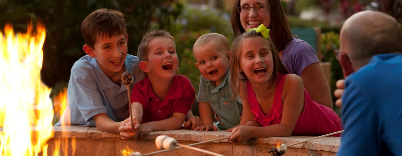 Im Außenbereich des Hotels, können Sie eine schöne Zeit mit der ganzen Familie verbringe