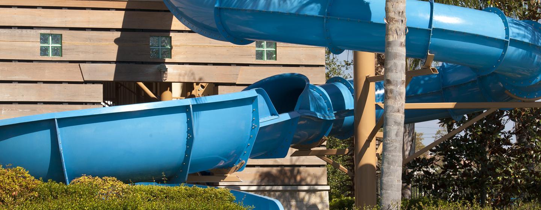 Hilton Orlando - Escorregador aquático