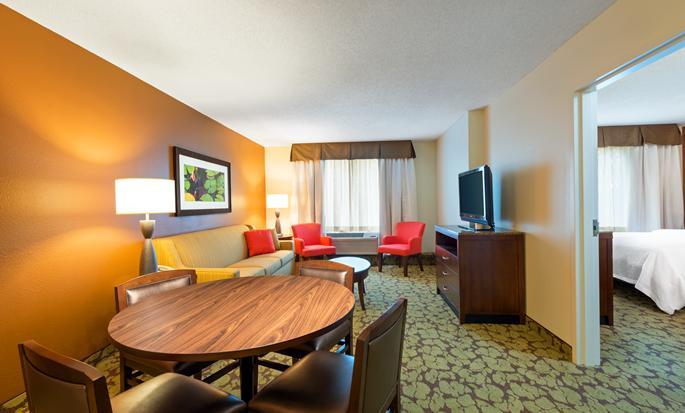 Hilton Garden Inn Orlando at Seaworld, USA - Suite living area