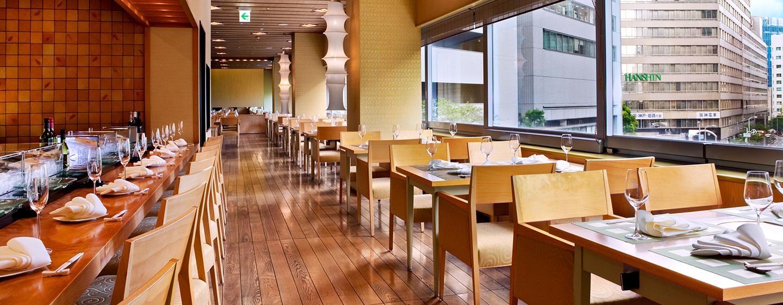Lassen Sie sich japanische Spezialitäten im Hilton Osaka schmecken