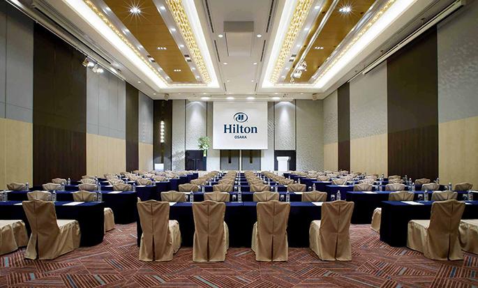 Hilton Osaka Hotel, Japan - Events