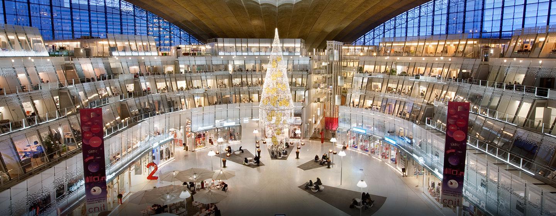 Hôtel Hilton Paris La Défense, France - Intérieur du CNIT