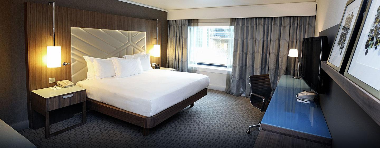 Entspannen Sie im Superior Zimmer mit King-Size-Bett