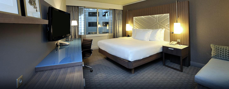 Hôtel Hilton Paris La Défense, France - Chambre supérieure avec très grand lit