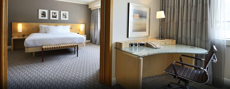 Hôtel Hilton Paris La Défense, France - Chambre de la suite présidentielle