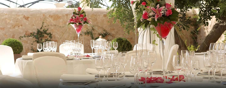 Hotel Hilton Sa Torre Mallorca Resort, Llucmajor, España - Bodas