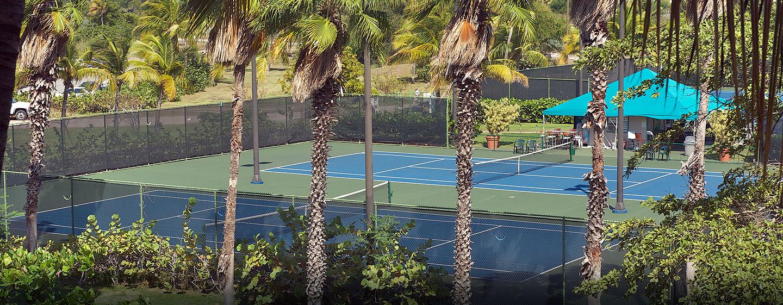 Hilton Ponce Golf & Casino Resort, Puerto Rico - Canchas de Tenis