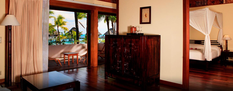 Hôtel Hilton Bora Bora Nui Resort & Spa, Polynésie française - Suite avec vue sur le lagon