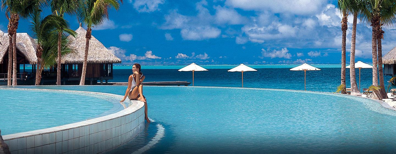 Hilton Bora Bora Nui Resort & Spa, Polynésie française - Magnifique piscine à débordement
