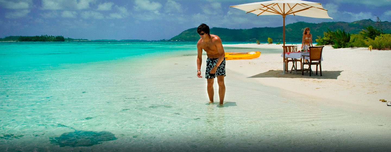 Hôtel Hilton Bora Bora Nui Resort & Spa, Polynésie française - Plage isolée