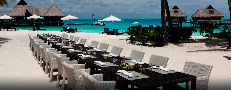 Hôtel Hilton Bora Bora Nui Resort & Spa, Polynésie française - Événements sur la plage
