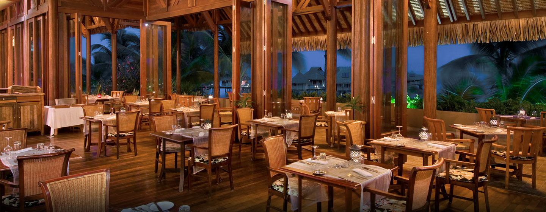 Hôtel Hilton Bora Bora Nui Resort & Spa, Polynésie française - Restaurant Iriatai