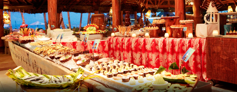Hôtel Hilton Bora Bora Nui Resort & Spa, Polynésie française - Dîner buffet