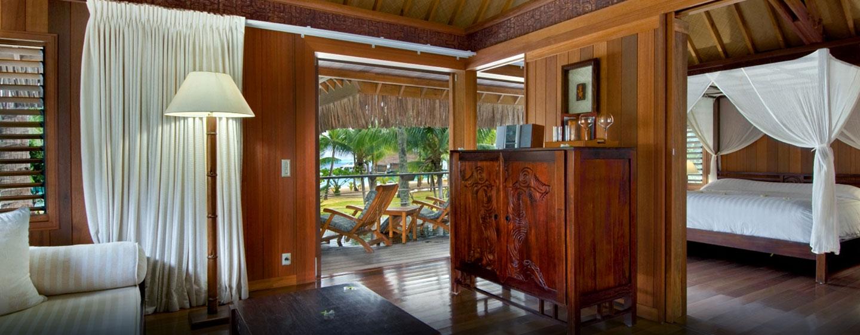 Hôtel Hilton Bora Bora Nui Resort & Spa, Polynésie française - Villa avec jardin