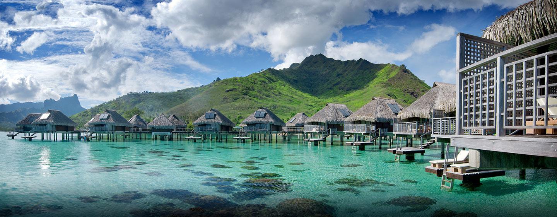 Hilton Moorea Lagoon Resort & Spa, Polynésie française - Vue extérieure du complexe