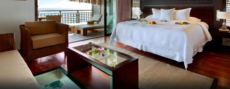 Hôtel Hilton Moorea Lagoon Resort & Spa, Polynésie française - Bungalow avec vue panoramique